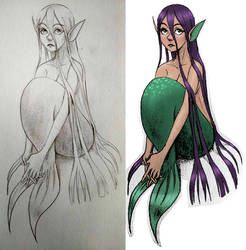 Mermaid by BananimationOfficial