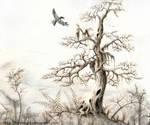 The Tree by Tistelmark