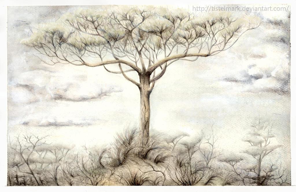 The White Tree by Tistelmark