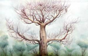 Tree VI by Tistelmark