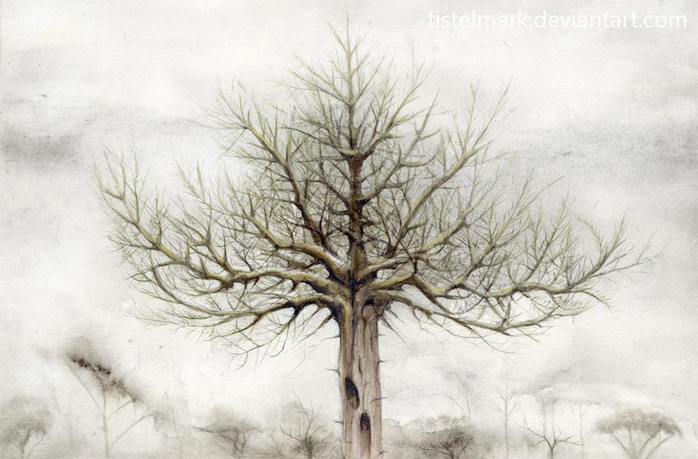 Tree VII by Tistelmark