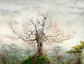 Forest Of Memories by Tistelmark
