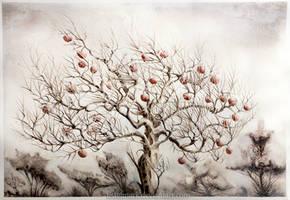 The Apple Tree by Tistelmark