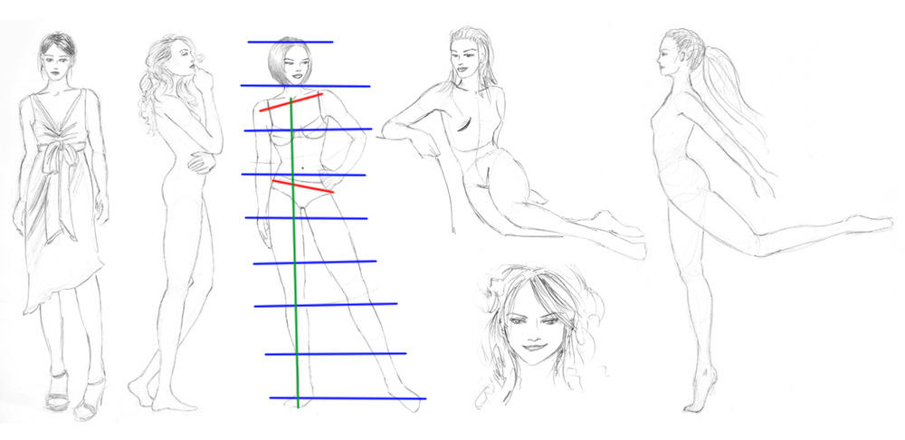Drawing human figures by equanimity505