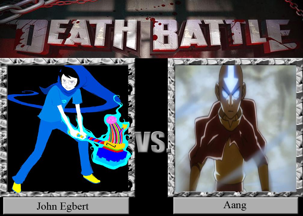 John Egbert vs Aang by CannedMadMan66