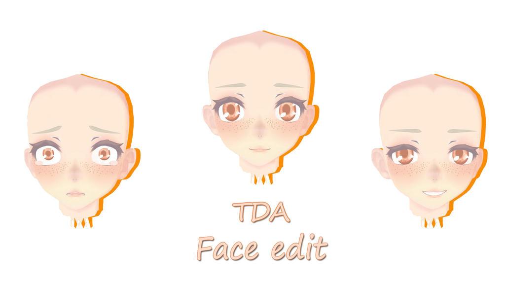 Mmd Tda Face Edit Dl By Erammd On Deviantart