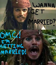 OMG! Jack's gettin' hitched! by totallyjohnnydepp