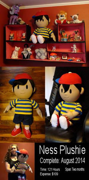 Ness Plush Doll