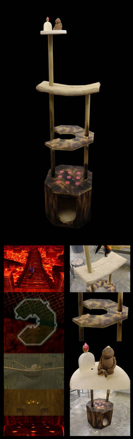 Fire Temple Cat Tower