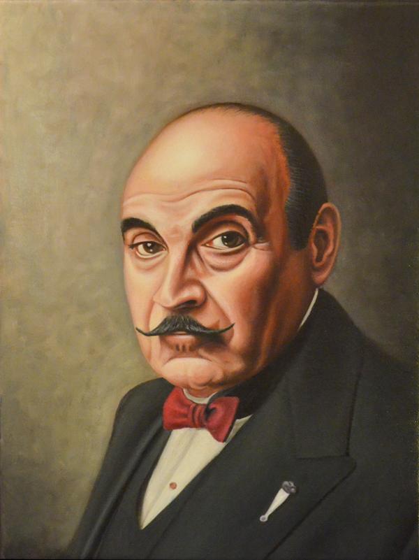 Hercule Poirot by vkupila