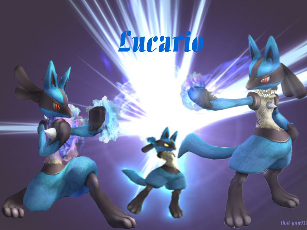 Lucario Wallpaper By That Guy911