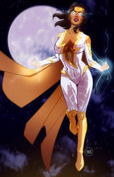 Thunder Woman commission by 122476