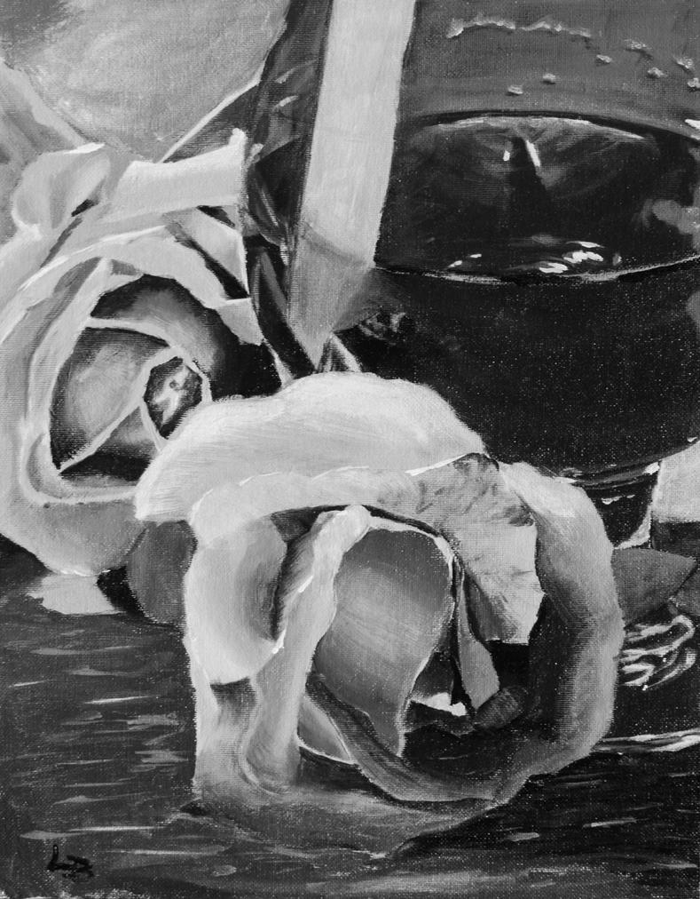 Roses and Cognac by Sne-aks