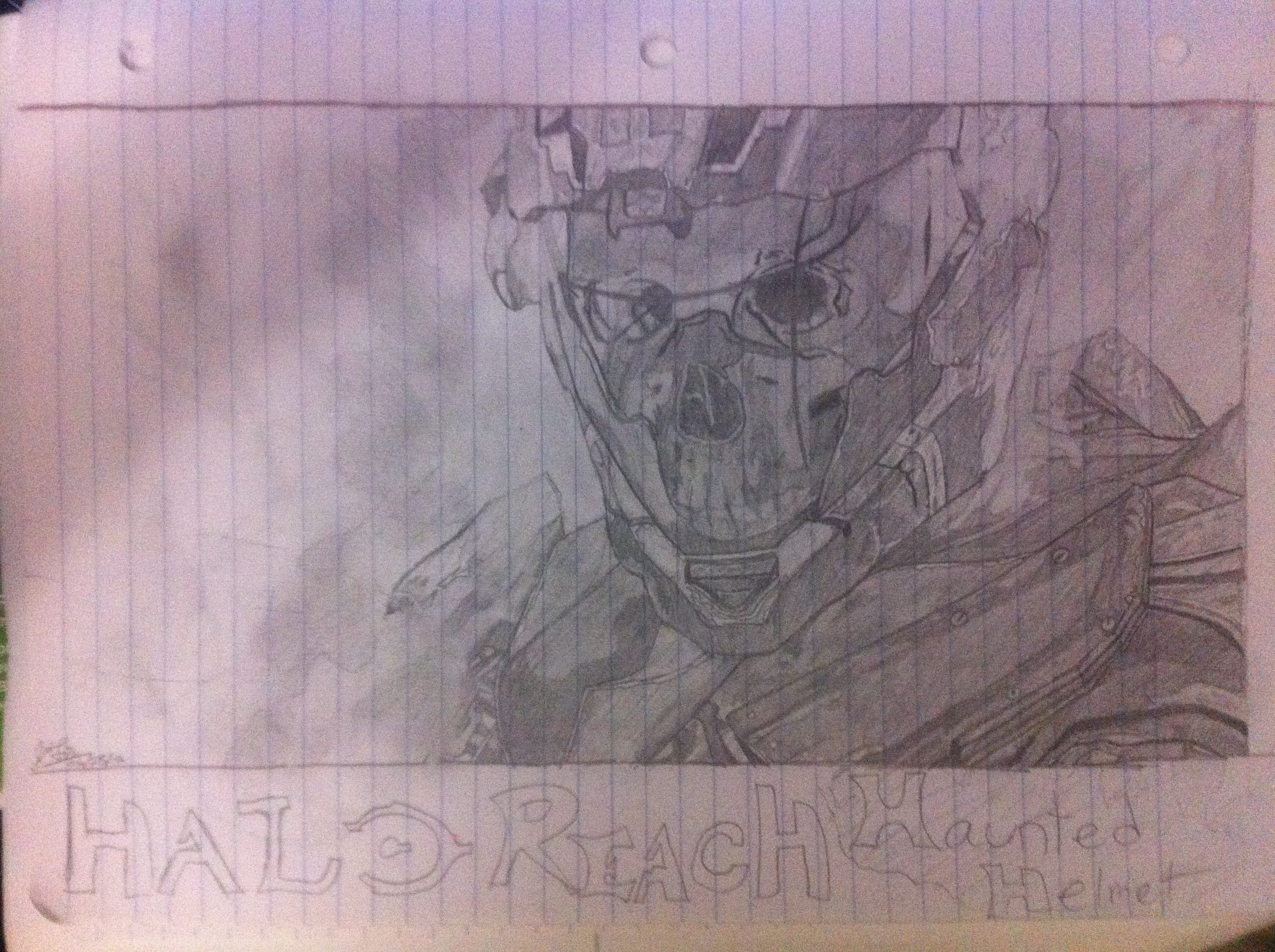 halo reach helmet by xrapterj on DeviantArt