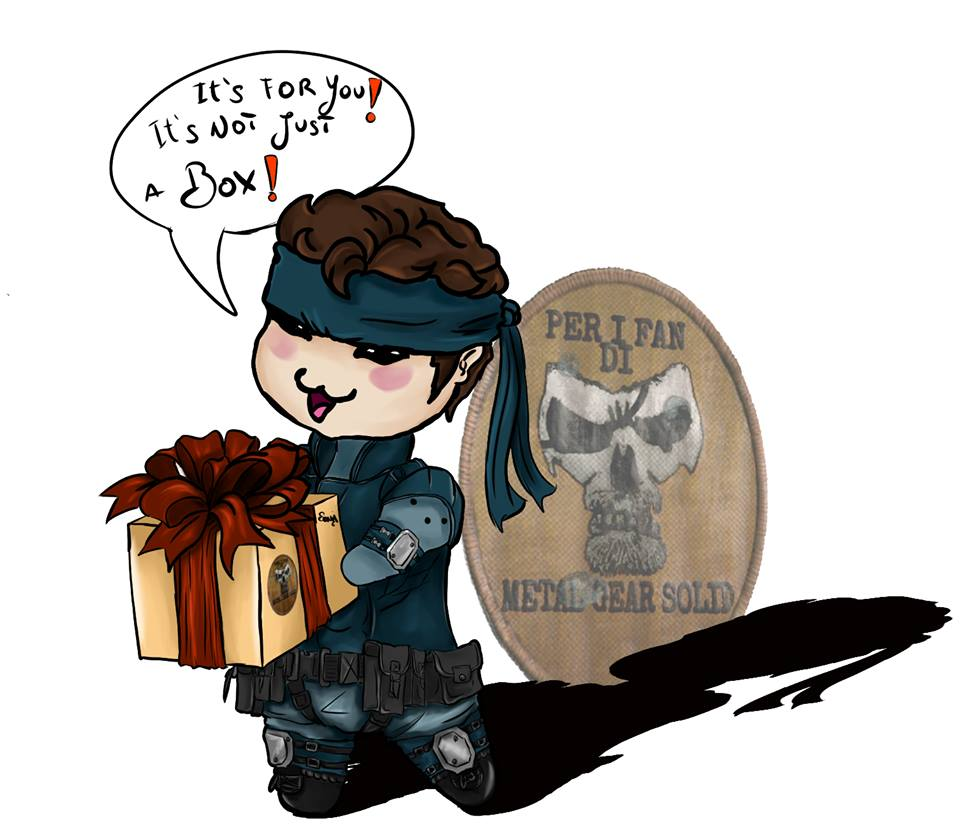 it s for you it is not just a box metal gear solid by OneWingedSoul