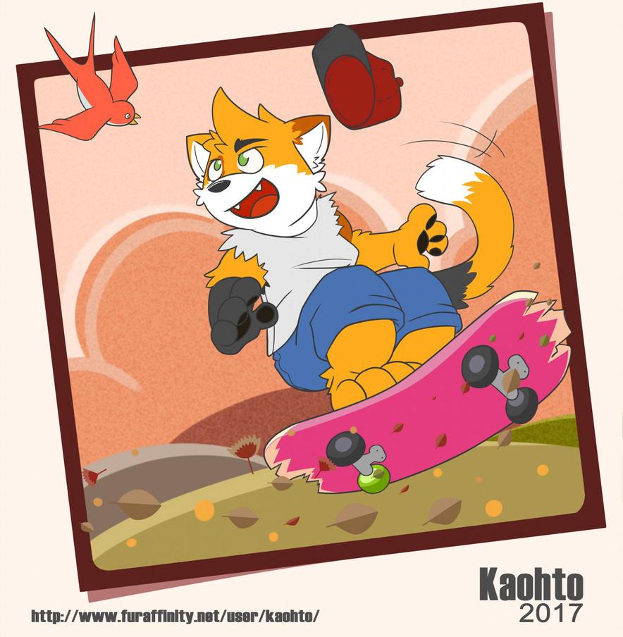 Skater!!! by KaohtoPaw
