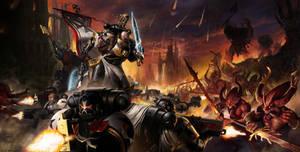 Warhammer 40k (FanArt) by ArturNakhodkin