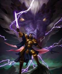 Thunder knight by ArturNakhodkin