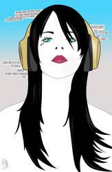 Headphones by I-hate-waffles