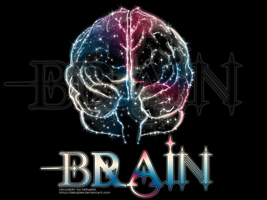 Wallpaper Brain by DebyBee