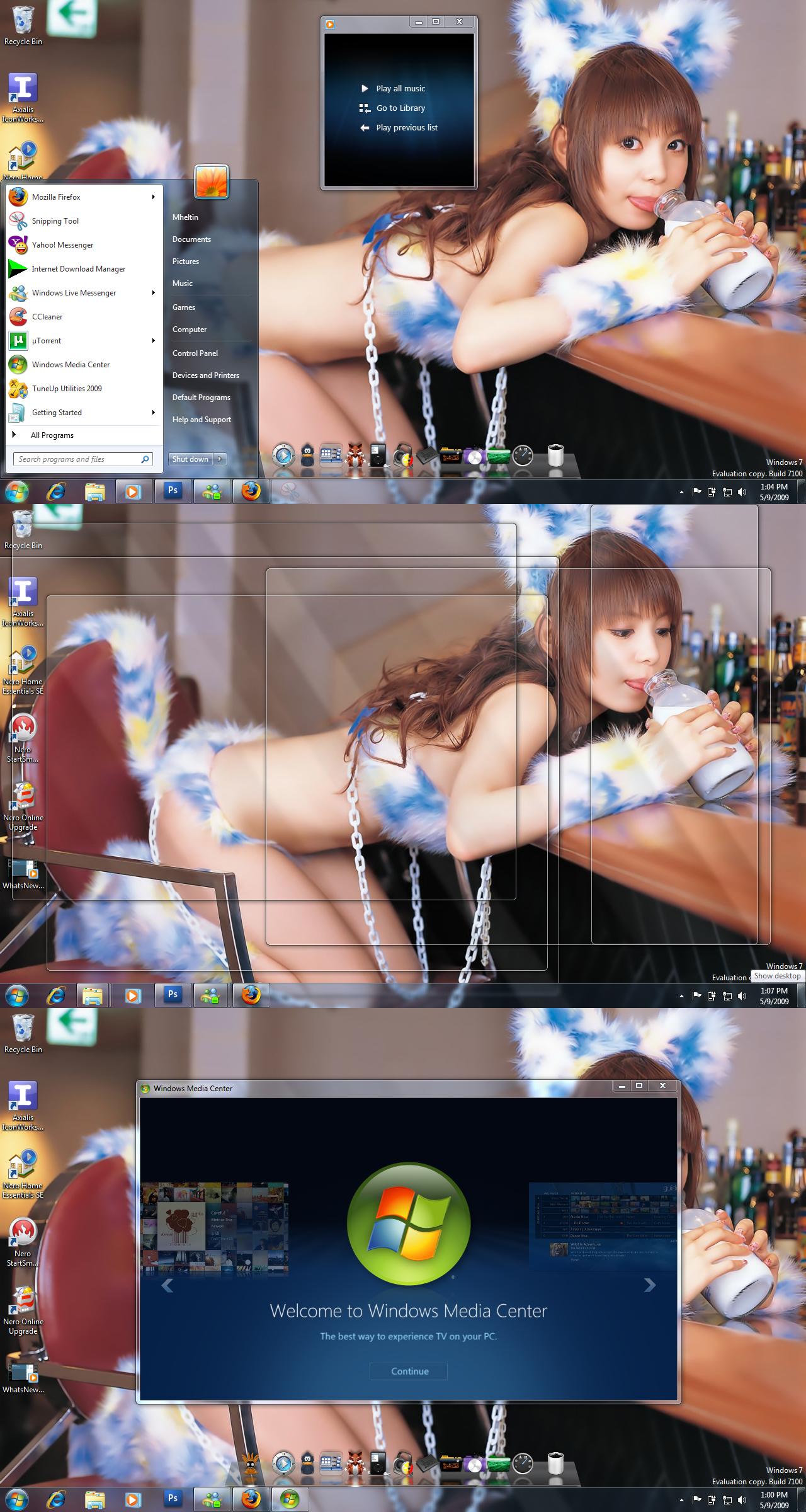 May Desktop by Mheltin