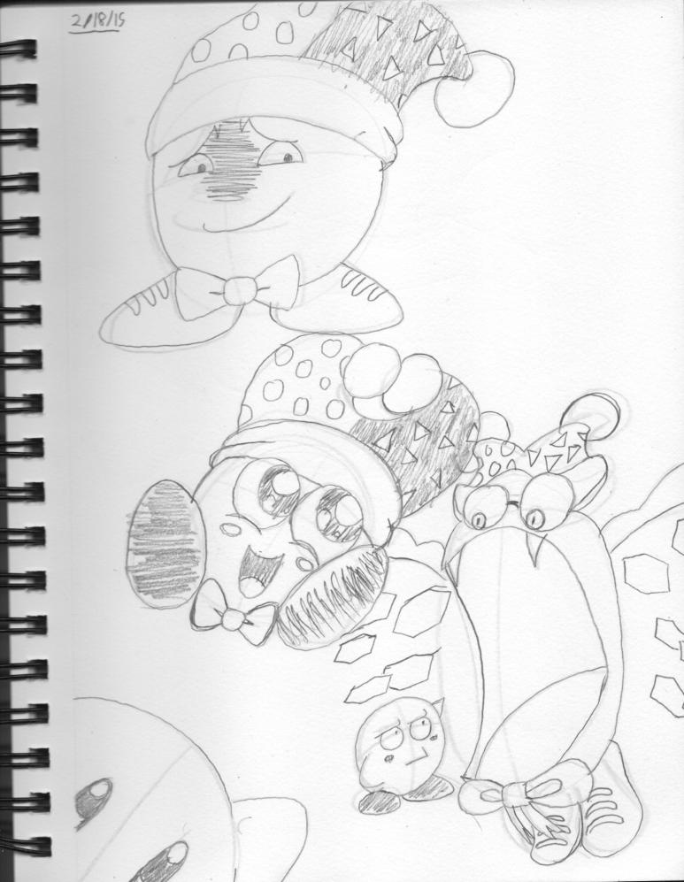 Marx sketches by Psychikos2