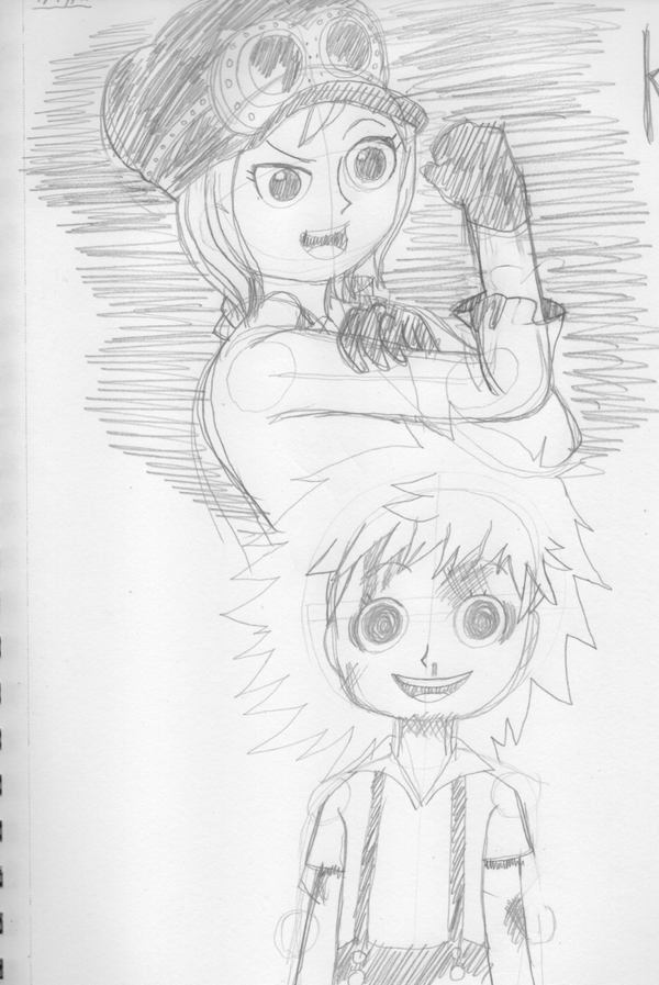 April drawing challenge #18 - One Piece Koala by Psychikos2