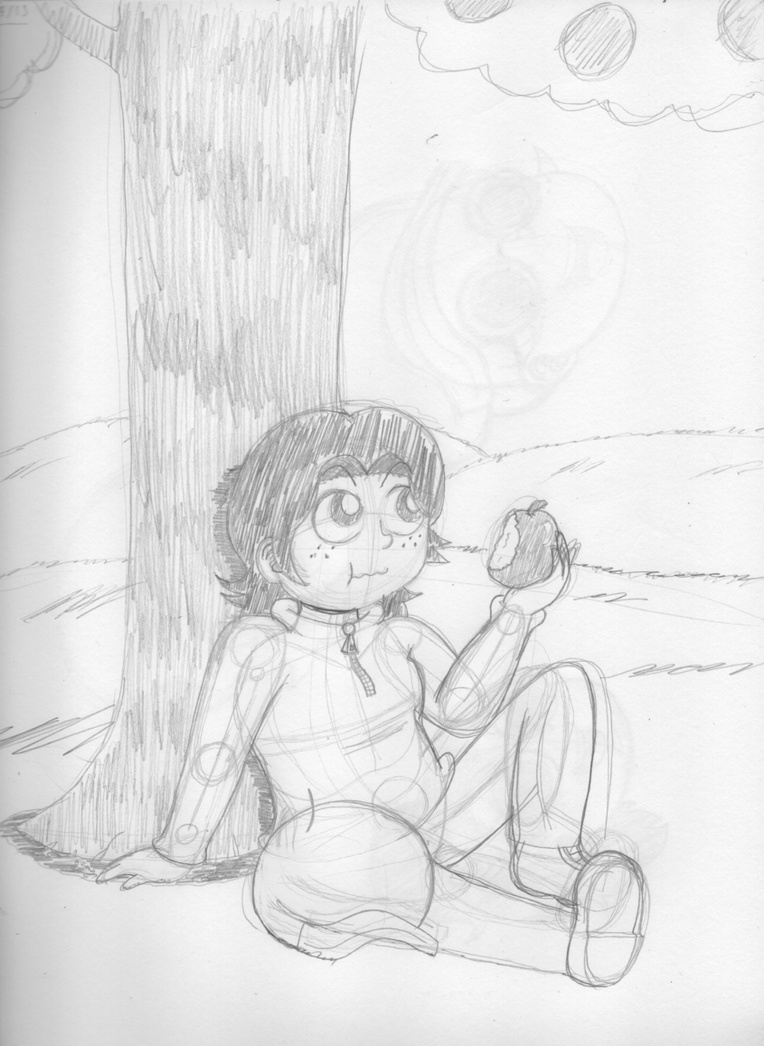 April drawing challenge #22 - Country Girl by Psychikos2