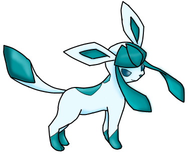 Glaceon by lilashySamourai