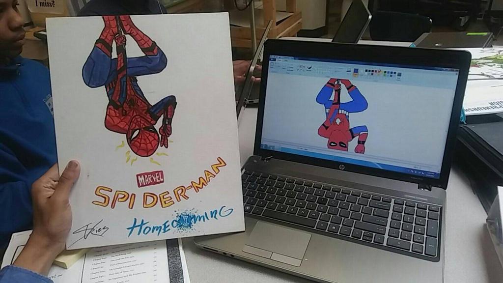 Spiderman  by MoistVaporeon