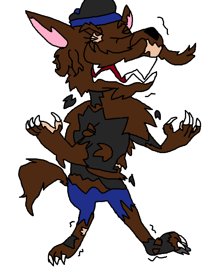 Werewolf! Jojo TF by thehypercutter on DeviantArt