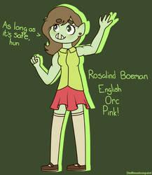 [DES] Rosalind Ref by stuffimadeonpaint