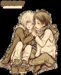 [RENDER] Armin x Eren