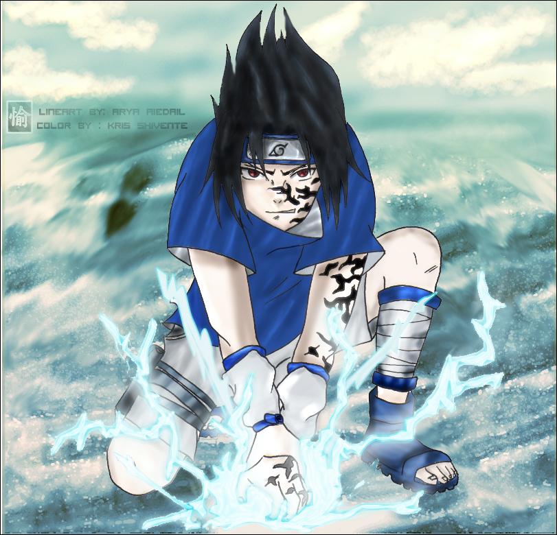 Sasuke Chidori In Ocean XD? By KrisShivente On DeviantArt