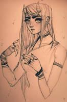 Bored :/ by Memori-P