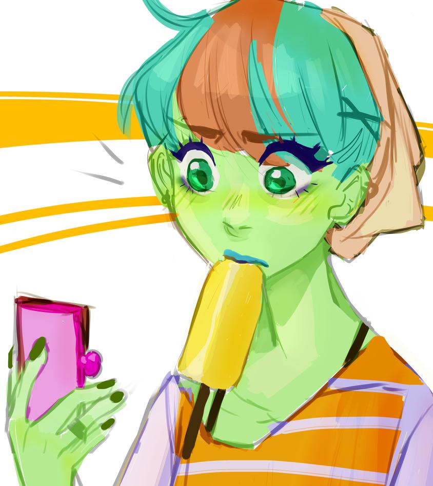 YP sketchie by Memori-P