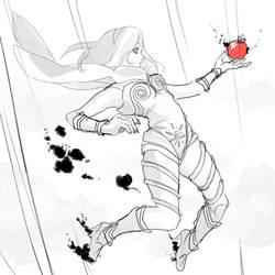 Kat Gravity Rush by Memori-P