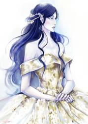 The Queen of Valinor by AYAMEKURE