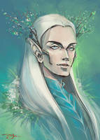 The Elven King by AYAMEKURE