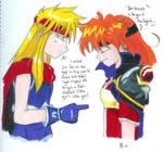 Lina and Gokudo a likely pair