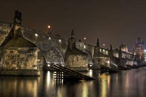 Charles Bridge - Prague hdr by lesogard