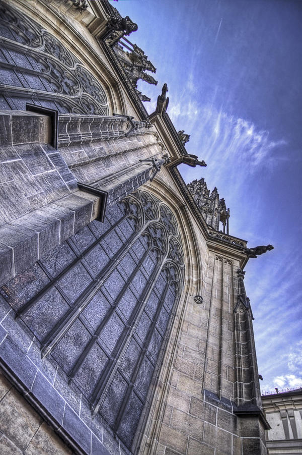 Saint Vitus's Cathedral HDR 2 by lesogard