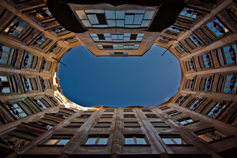Casa Mila - Gaudi Barcelona by lesogard