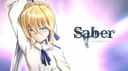 Saber #1 by SpukyCat