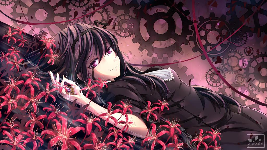 Homura Akemi Witch Wallpaper By Spukycat On Deviantart