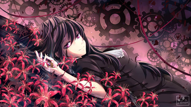 Homura Akemi - Witch Wallpaper