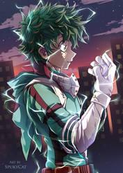 Deku - Boku no Hero Academia by SpukyCat