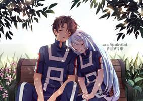 Ryoji and Nejire [Commission]