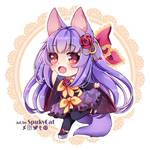 Hellgirl Chibi [commission]