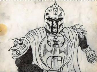inktober knight this by 7mrStevo9